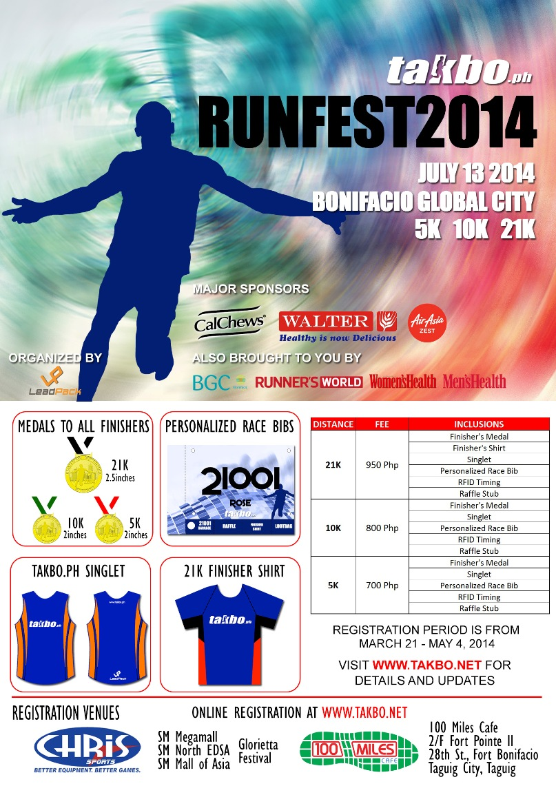 Runfest 2014 Booth at FrancisM Run this Sunday