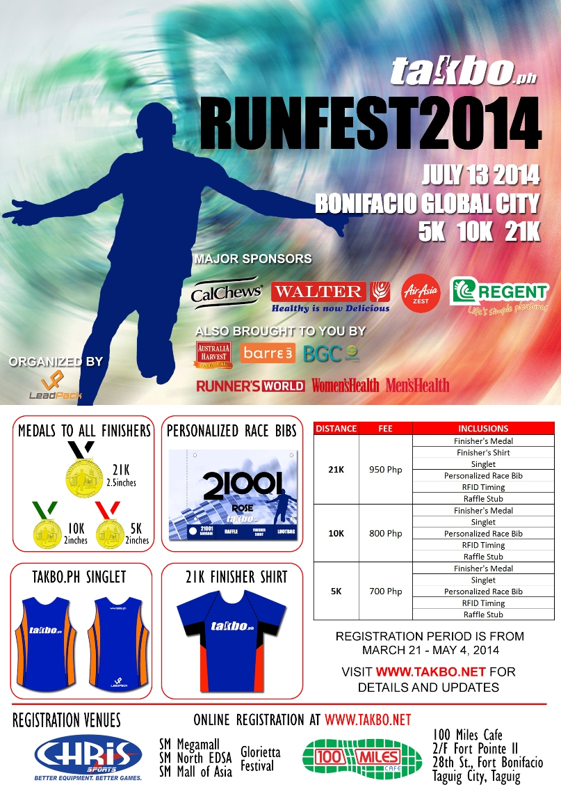 Runfest 2014 Poster R3
