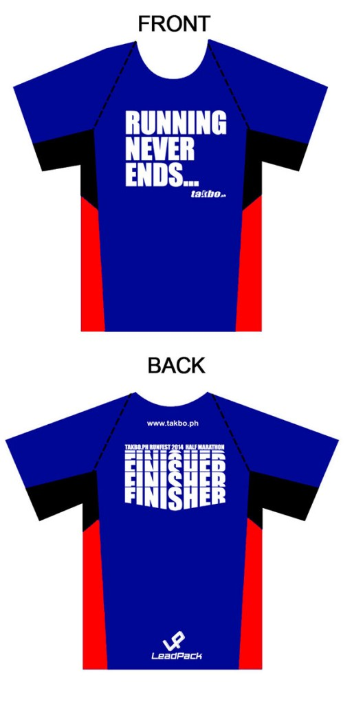 Runfest 2014 Finisher's Shirt for 21K