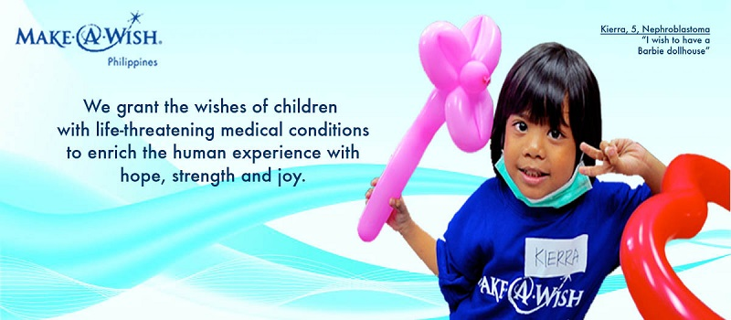 Make A Wish Foundation Header