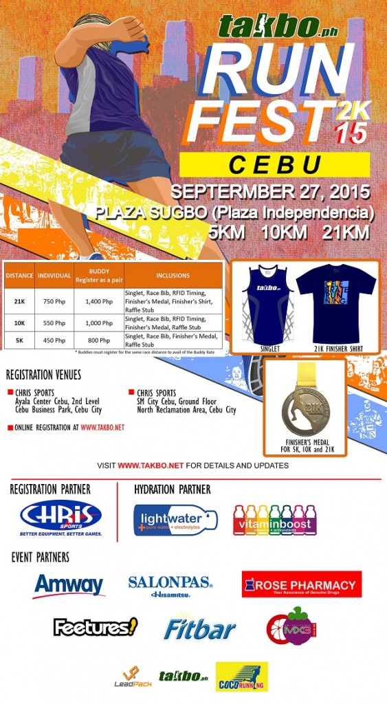 Cebu Runfest 2015 Poster Design CEB - R4 with Sponsors reduced
