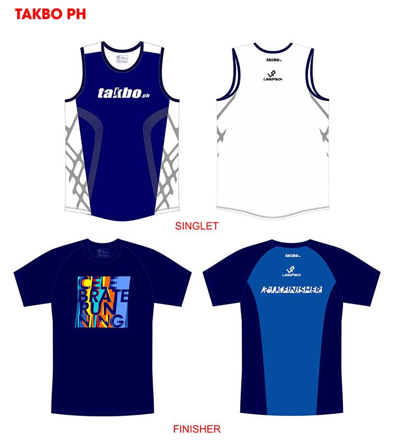 TAKBO RUNFEST 2015 SINGLET AND FINISHER
