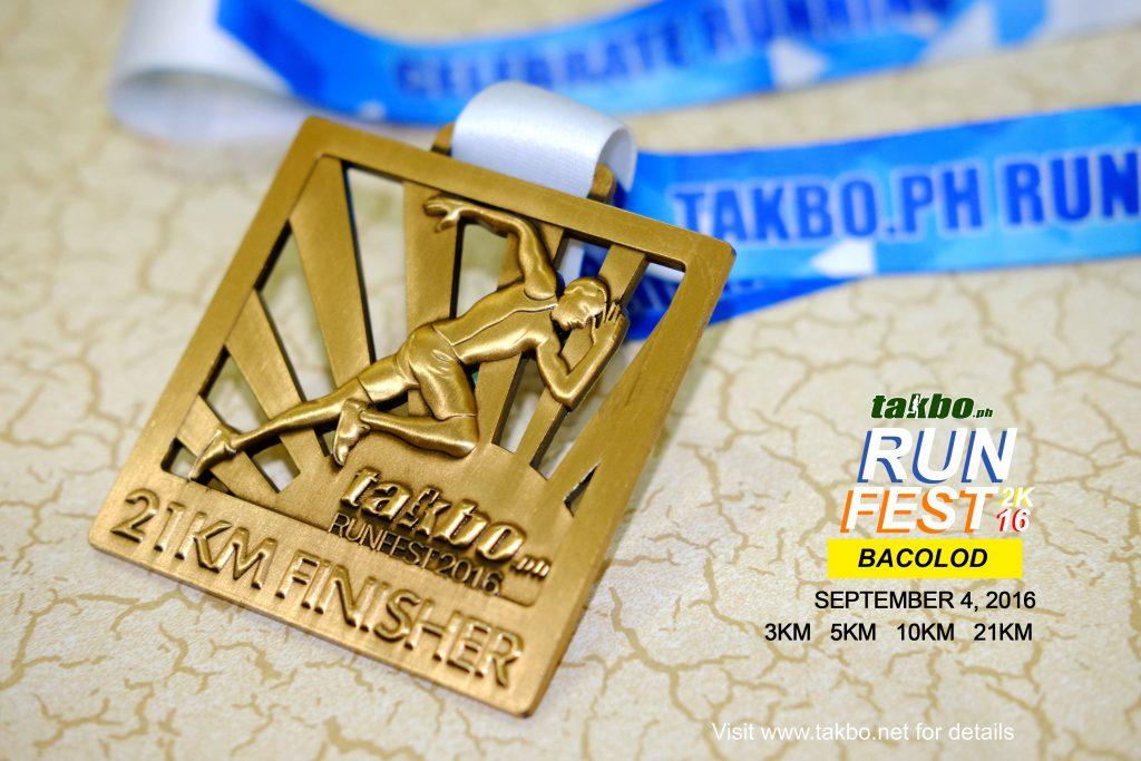 FB - Runfest BCD 21K Medal
