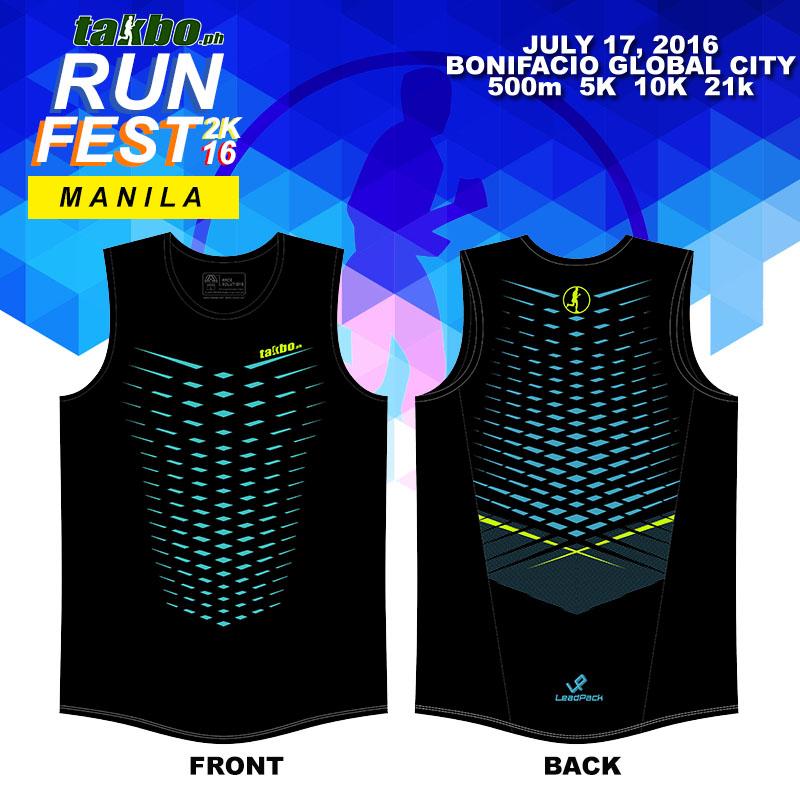 Runfest 2016 - IG Singlet
