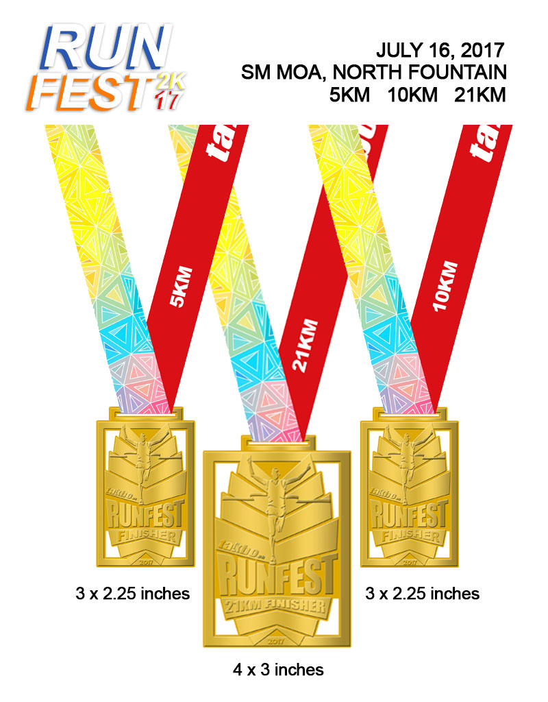 Runfest2017 Medals
