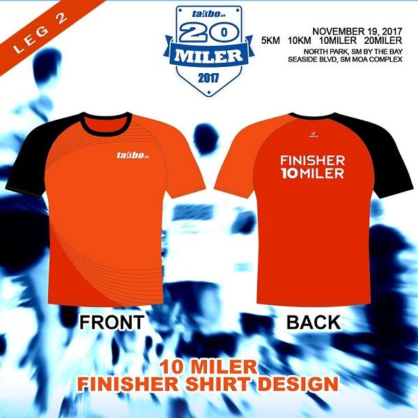TPH 20Miler 2017 FB FShirt 10MILER